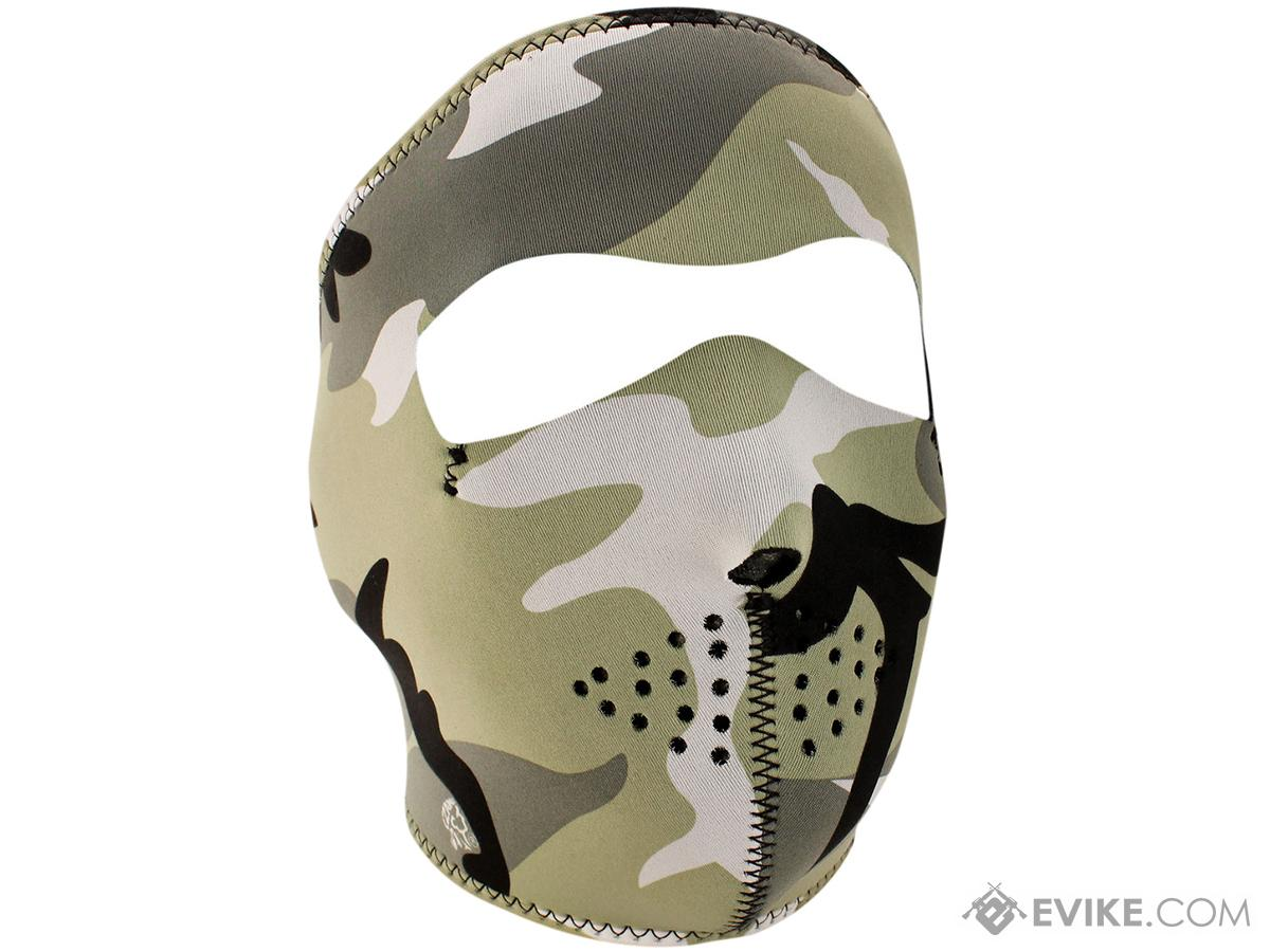 Bobster / Zan Tactical Neoprene Face Mask (Color: Urban Camouflage)