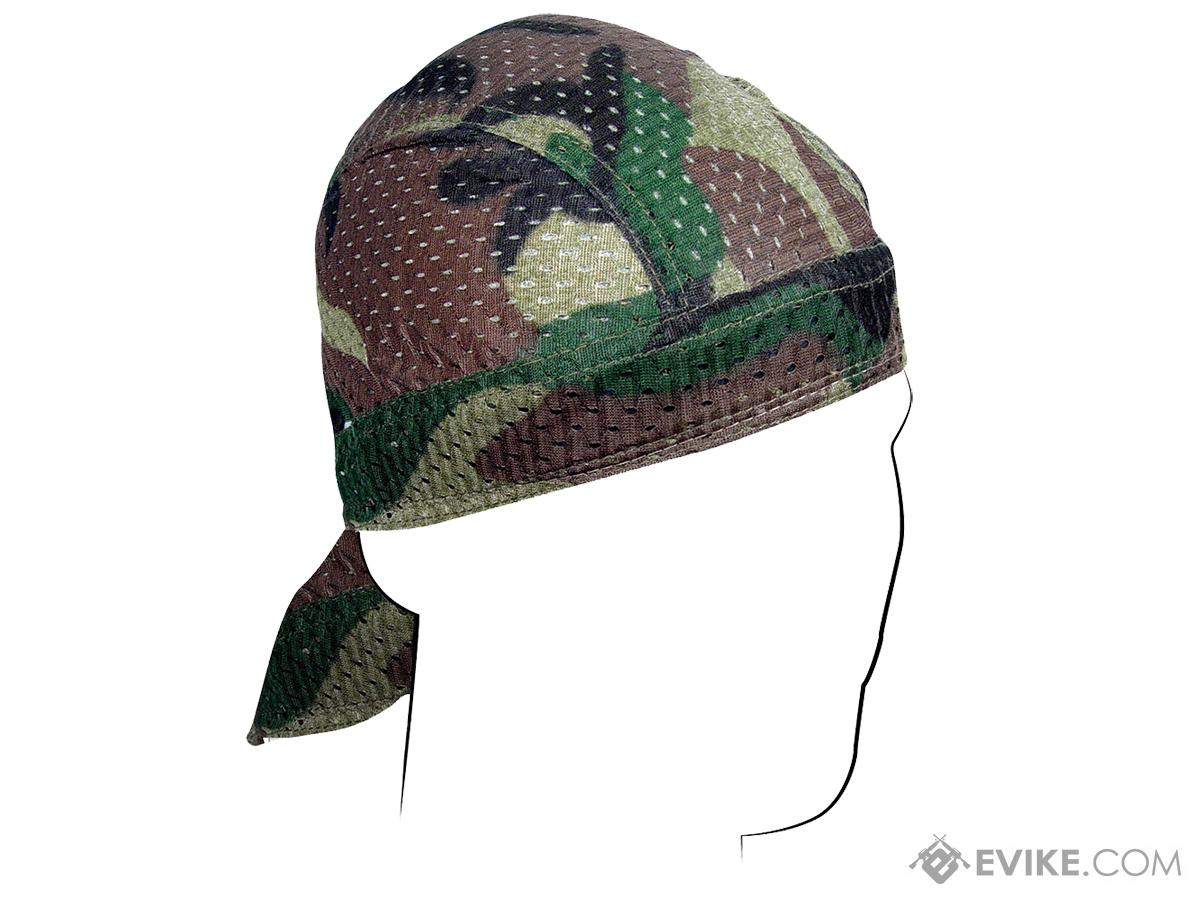 Bobster / Zan Headgear Flydanna (Color: Woodland Camouflage)