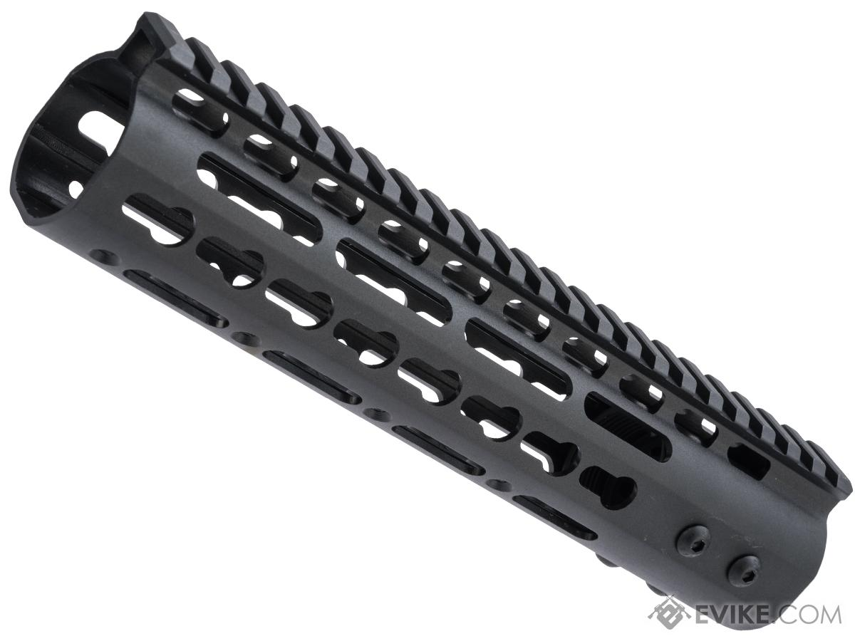 ZCI CNC Aluminum KeyMod Ultra Slim Free Float Handguard for M4 / M16 AEG Rifles (Size: 9)