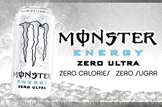 Monster Energy Drink - Zero Ultra