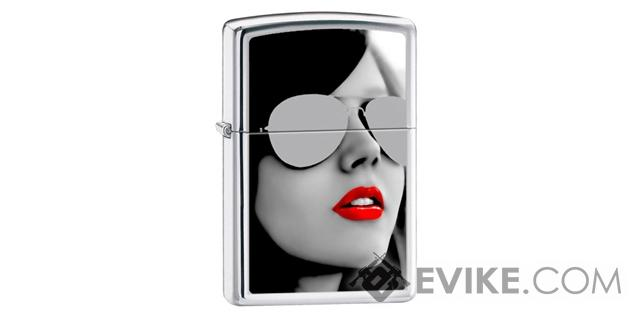 Zippo Classic Lighter Graphics Series (Model: Sunglasses)
