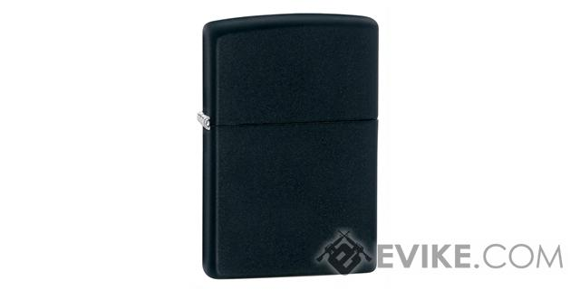 Zippo Classic Lighter Solid Color Series (Model: Matte Black)