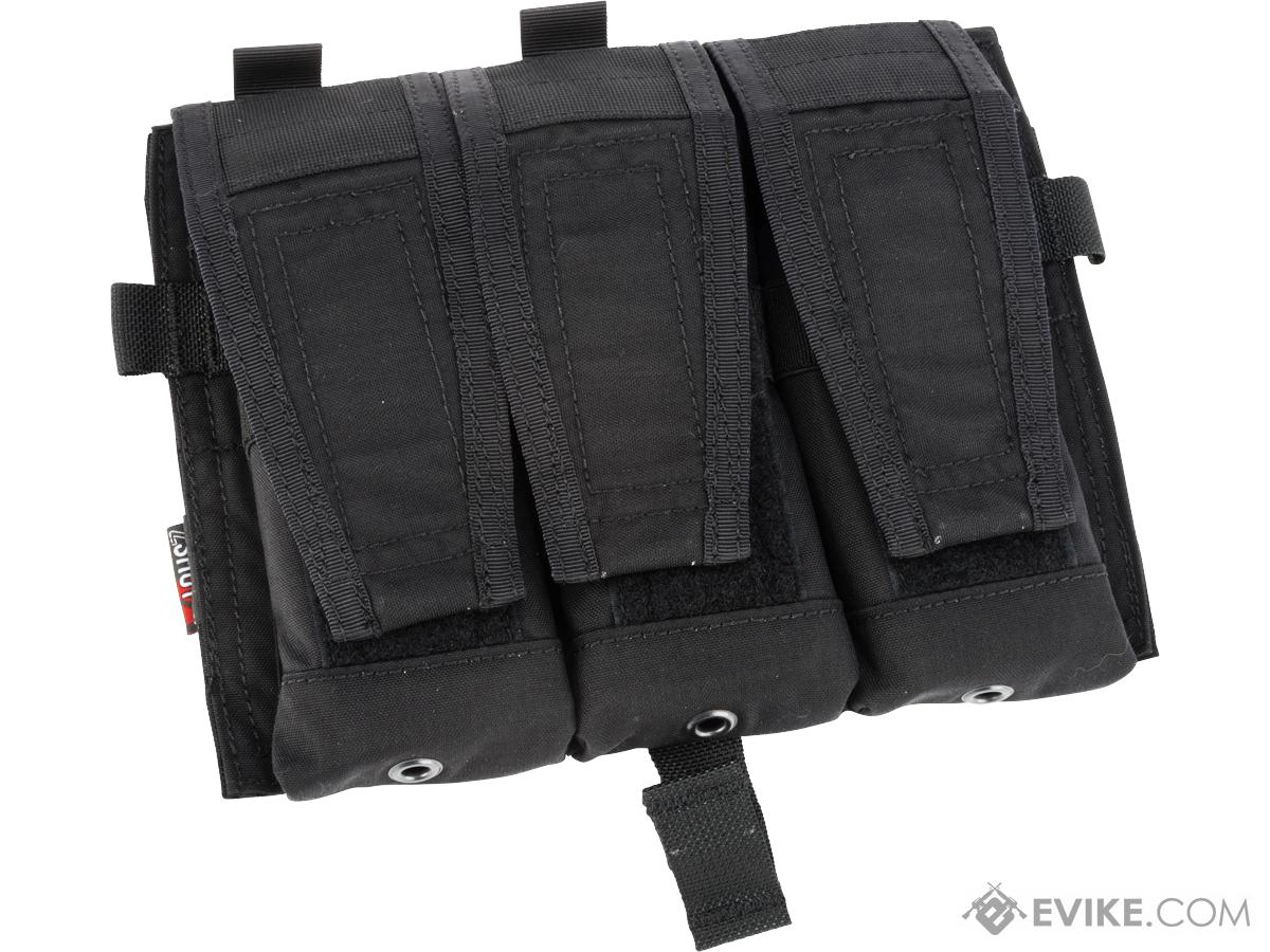 ZShot Crye Precision Licensed Replica AVS 5.56 Smart Pouch Front Flap (Color: Black)