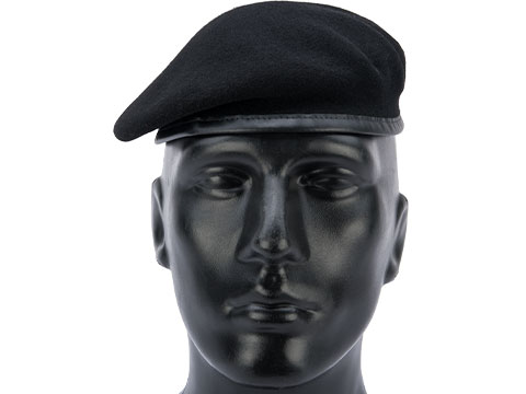 Militaire Legend French Military Beret by Laulhere (Color: Noir / 60)