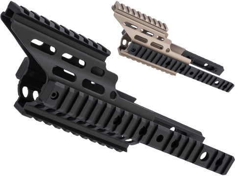 Nitro.Vo Handguard Booster for Tokyo Marui SCAR-L Airsoft New Gen AEG Rifle by Laylax