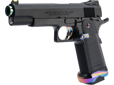 Evike.com x Laylax Custom Hi-CAPA 5.1 Gas Blowback Airsoft Pistol (Model: Heat Graduation)