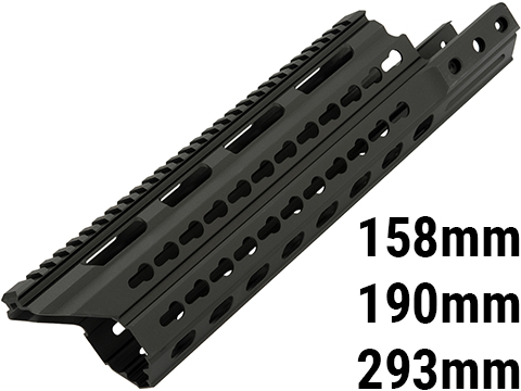 LayLax Kriss Vector Extended Keymod Handguard (Size: Long)