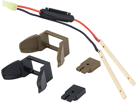Prometheus Wiring Conversion Kit for Marui Next Generation SOPMOD M4 Stock (Color: Black)
