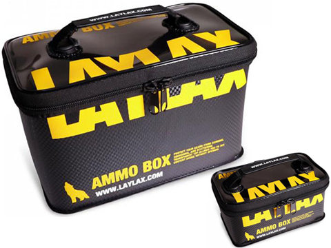 Laylax Satellite AMMO BOX Storage Container (Size: Medium)