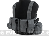 LBX Tactical Lock & Load Chest Rig (Color: Wolf Grey)