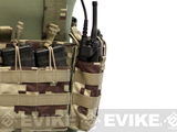 LBX Tactical Radio Pouch (Color: Project Honor Camo)