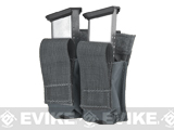 LBX Tactical Dual Kydex Pistol Magazine Pouch - Wolf Grey