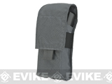 LBX Tactical  Double Stack M4 Magazine  Pouch -  Wolf Grey