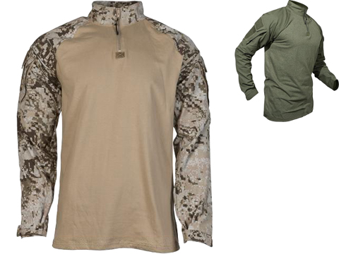 LBX Tactical Camouflage Combat Shirt (Color: Ranger Green / Medium)