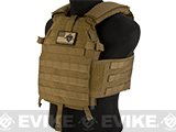 LBX 0300S Tactical Modular Plate Carrier - Coyote Brown