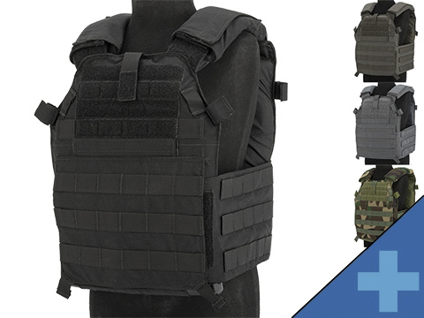 LBX 0300 Tactical Modular Plate Carrier (Color: Black / Small)