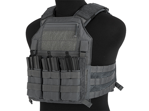 LBX Armatus II 4020 Plate Carrier (Color: Wolf Grey / Large)