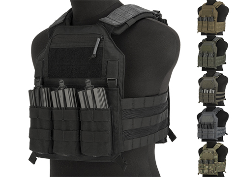 LBX Armatus II 4020 Plate Carrier (Color: Black / Medium)