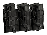 LBX Tactical Modular Assaulters Panel for MOLLE Plate Carriers (Color: Black)