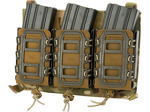 LBX / G-Code Triple M4 Mag Scorpion Panel for Armatus Plate Carriers (Color: Multicam)