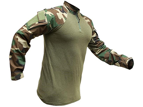 LBX Tactical Gen 2 Combat Top - M81 Woodland (Size: Small)