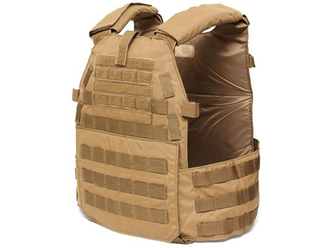 LBX 0300 Tactical Modular Plate Carrier (Color: Coyote Brown / Large)