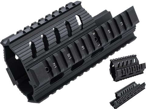 LCT Airsoft Railed Handguard for LCT AK Airsoft Rifles