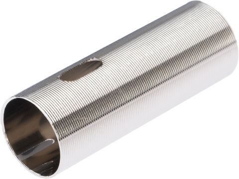 LCT Airsoft CNC Advanced Stainless Ribbed Airsoft AEG Cylinder