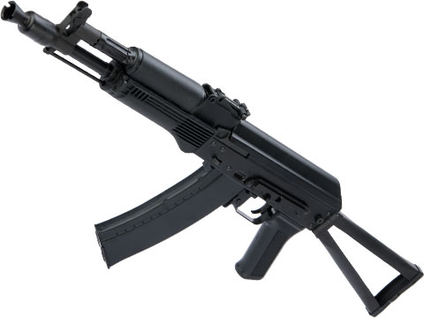 LCT Stamped Steel LCK105 AK AEG Rifle w/ Steel Folding Stock