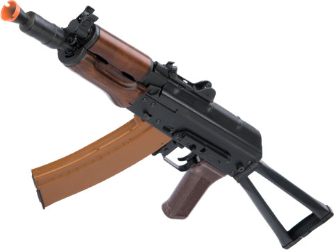 LCT Stamped Steel LCKS74UN AK EBB AEG Rifle w/ Steel Folding Stock