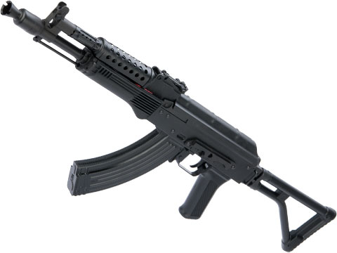 LCT Stamped Steel G-04M AK EBB AEG Rifle w/ Folding Stock