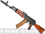 LCT Airsoft AK74M NV Full Metal Airsoft AEG with Real Wood Furniture