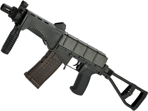 LCT SR-3M Compact PDW Airsoft AEG w/ Side Folding Skeleton Stock