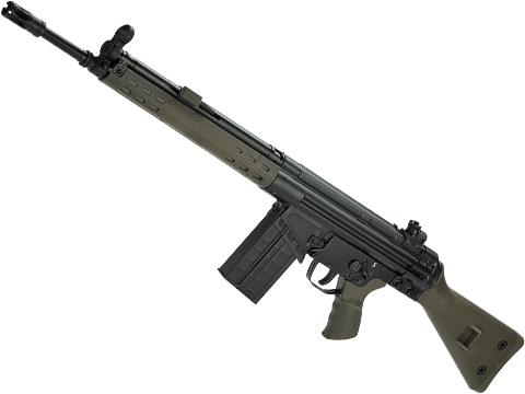 LCT LC-3 Full Size Steel Airsoft AEG (Color: OD Green)