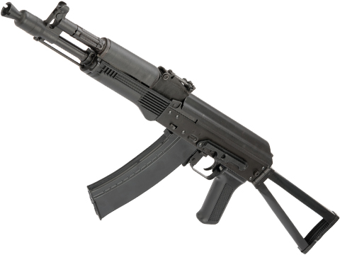 LCT Airsoft LCK105 Full Metal AEG with Synthetic Furniture and Side Folding Stock