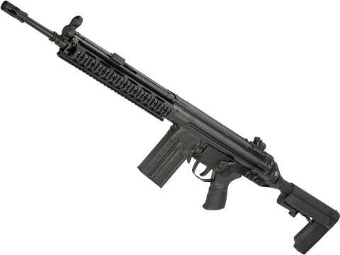 LCT LC-3 AR Full Size Steel Airsoft AEG with RIS Handguard and Adjustable Stock (Color: Black)