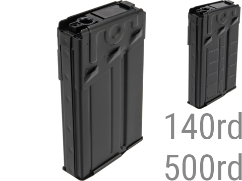 LCT Metal Magazine for LC-3/G3 Series Airsoft AEG (Style: Stripe / 140rd)