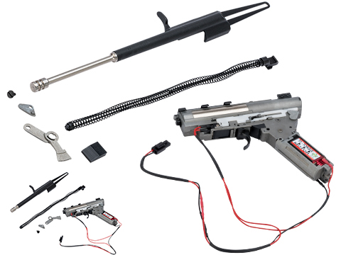 LCT Airsoft Complete Gearbox w/ Electric Blowback and Recoil Kit for AK Series Airsoft AEG