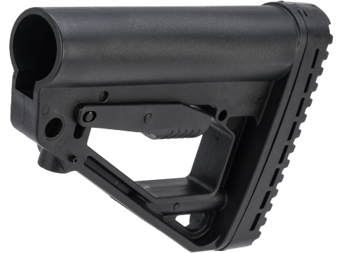 LCT Airsoft LCK12-K16 Tactical Adjustable Buttstock for M4 Buffer Tubes