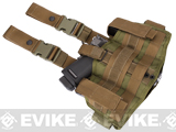 Black Owl Gear / Phantom Navy Seal Drop Leg Thigh Holster Rig (Color: Tan)