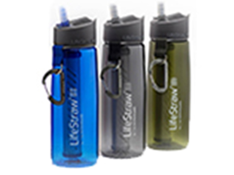 LifeStraw Go 2-Stage Personal Water Bottle with Integrated LifeStraw Filtration