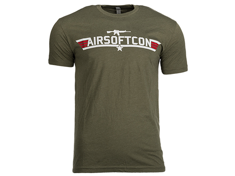 Evike.com AirsoftCon Shirt - OD Green (Size: Medium)