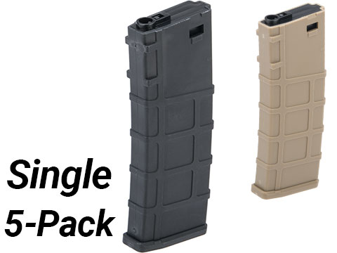 Lonex 200rd Mid-Cap Polymer Magazine for M4 M16 AEG Rifles