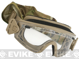 Smith Optics Elite LOPRO Regulator Goggles with Clear & Gray Lenses