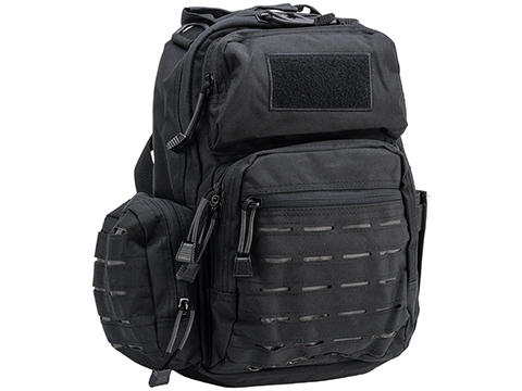 Matrix Tactical Laser Cut Shoulder Bag (Color: Black)