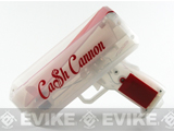 The Cash Cannon: The Light Show Money Gun - Red