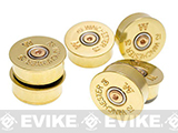 Lucky Shot USA 12 Gauge Magnets - Brass (Set of 5)