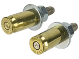 Lucky Shot 45 Caliber License Plate Bolts - Brass