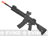 Lancer Tactical 14.5 Combat LT102 M4 Carbine Airsoft AEG Rifle (Color: Black)