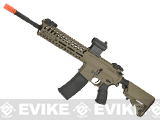 Lancer Tactical 14.5 Combat LT102 M4 Carbine Airsoft AEG Rifle (Color: Coyote)
